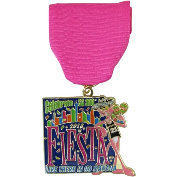 2018 Fiesta Like There Is No Manana Fiesta Medal