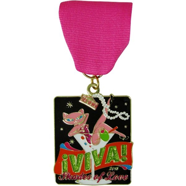 2018 Shades of Love Fiesta Medal