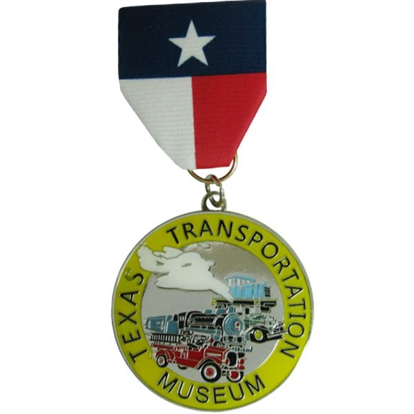 2018 1st Edition Texas Transportation Museum Fiesta Medal