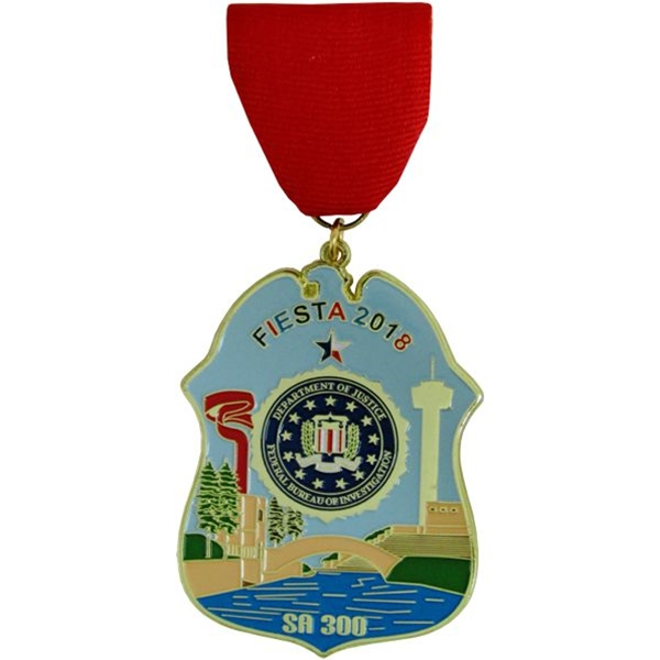 2018 Department of Justice Federal Bureau of Investigation Fiesta Medal