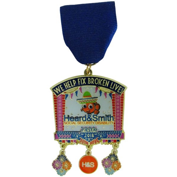 2018 Heard and Smith Fiesta Medal