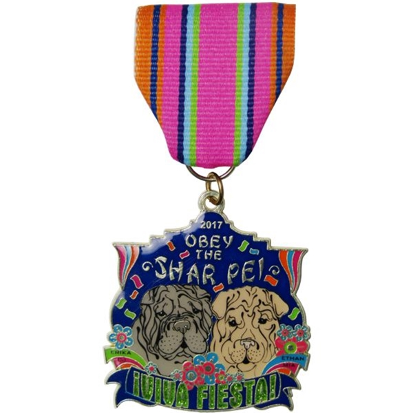 2017 Obey The Shar Pei Fiesta Medal
