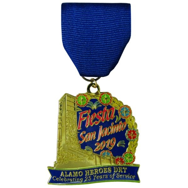 2019 DRT Heroes Chapter 25th Anniversary Fiesta Medal