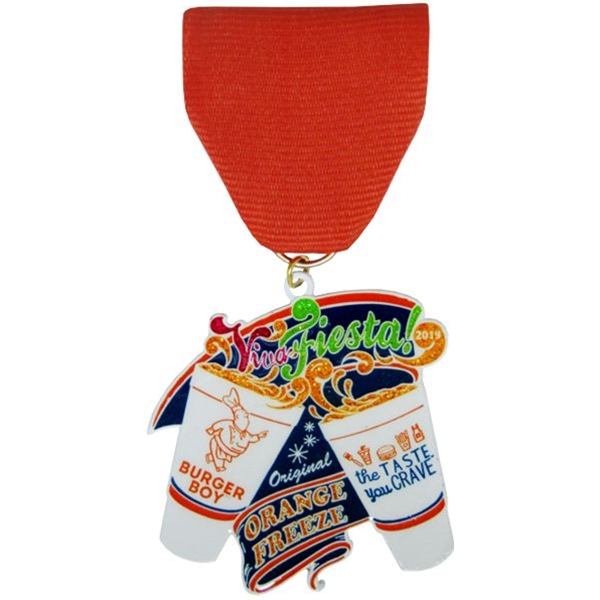 2019 Burger Boy Orange Freeze Fiesta Medal